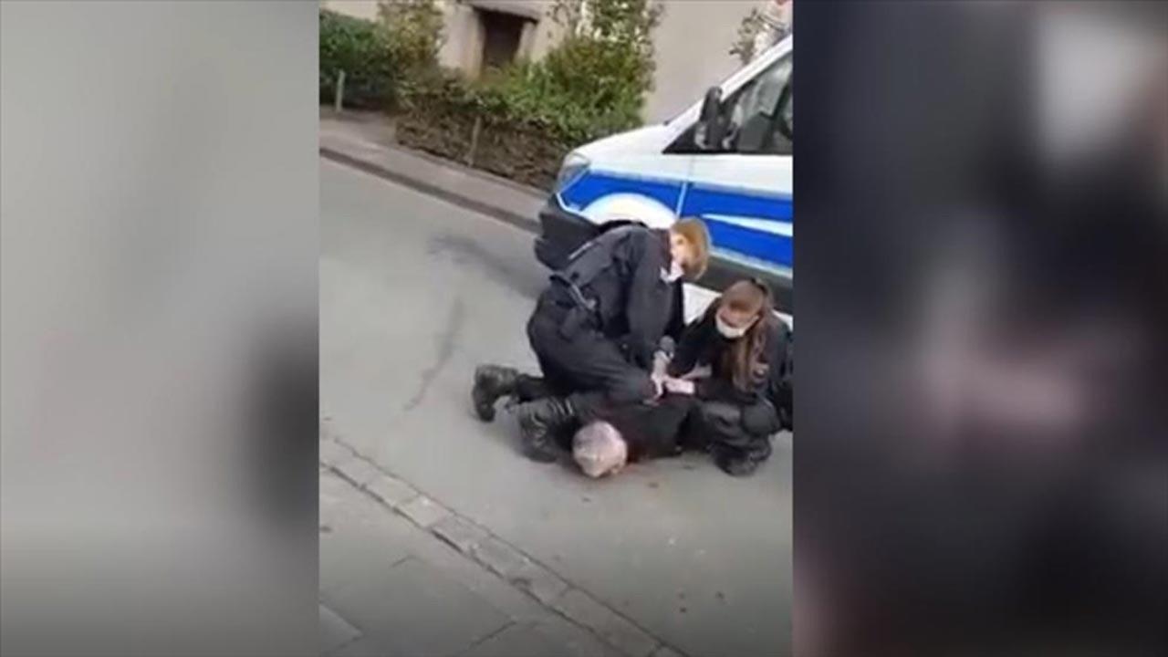 Almanya'da Türk iş adamına polis şiddeti