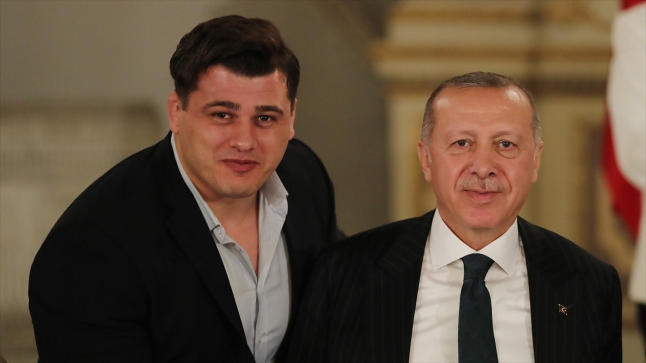 Erdoğan, Rıza Kayaalp'i telefonda tebrik etti