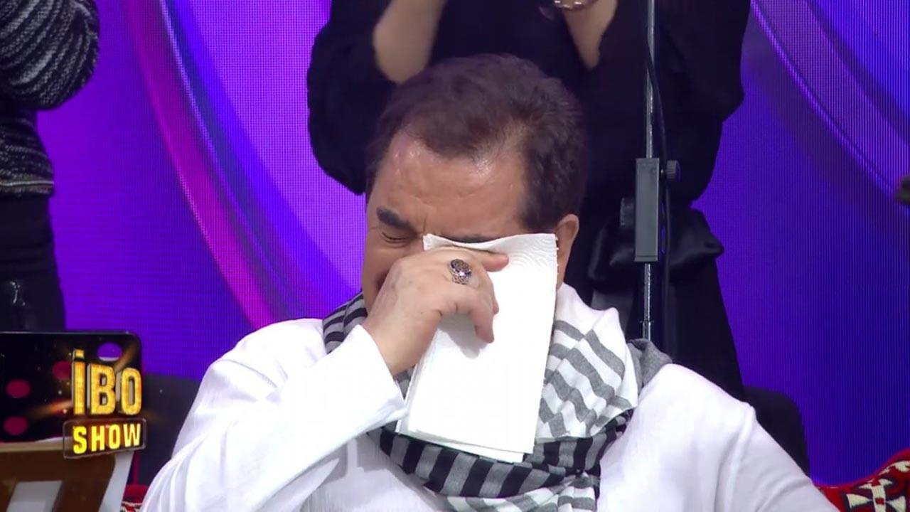 İbrahim Tatlıses gözyaşlarıyla Allah'a yalvardı
