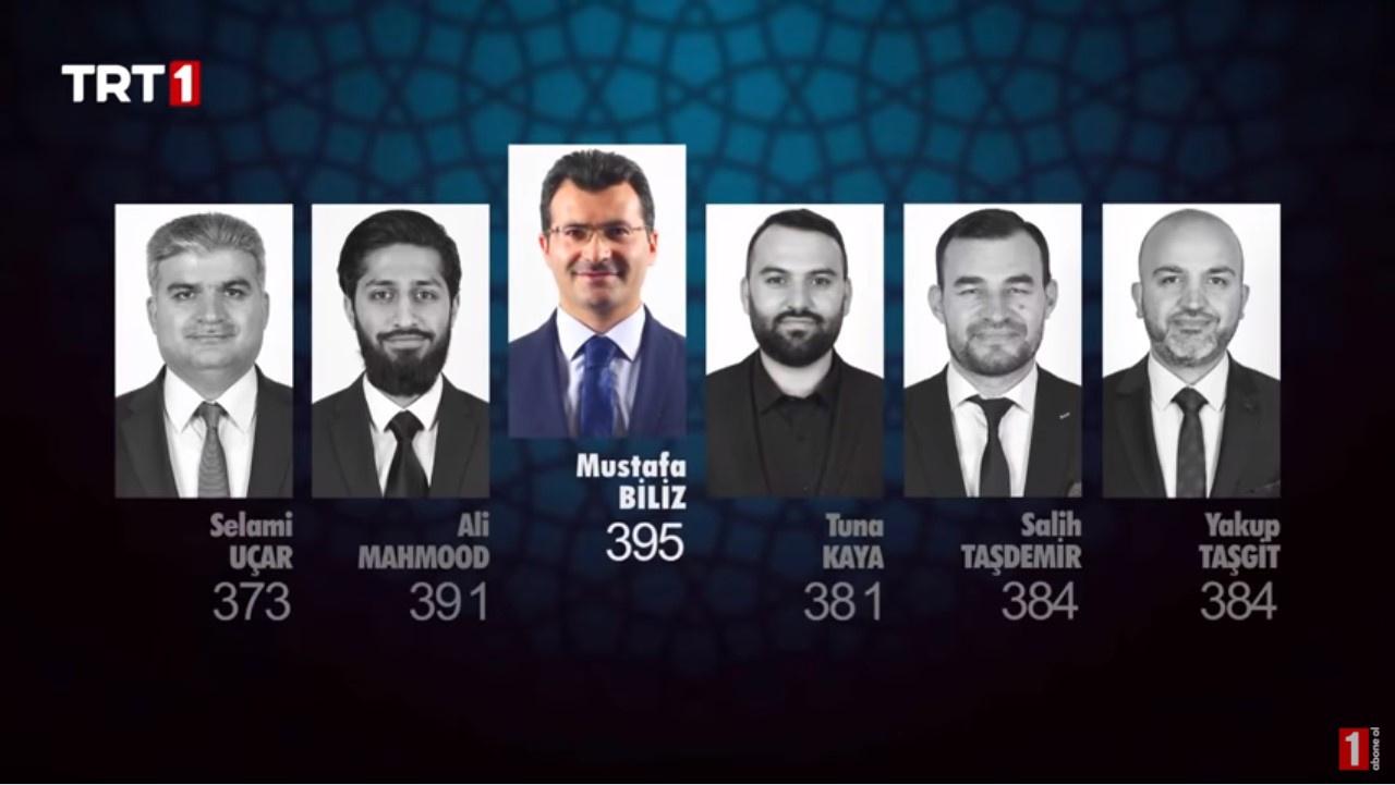 Selami Uçar, Ali Mahmood, Mustafa Biliz, Tuna Kaya, Salih Taşdemir ve Yakup Taşgit