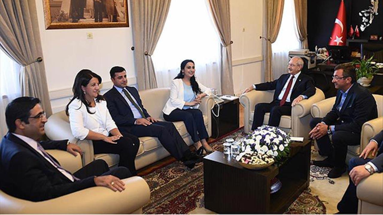 """CHP-HDP arasında """"göstermelik"""" kavga"""