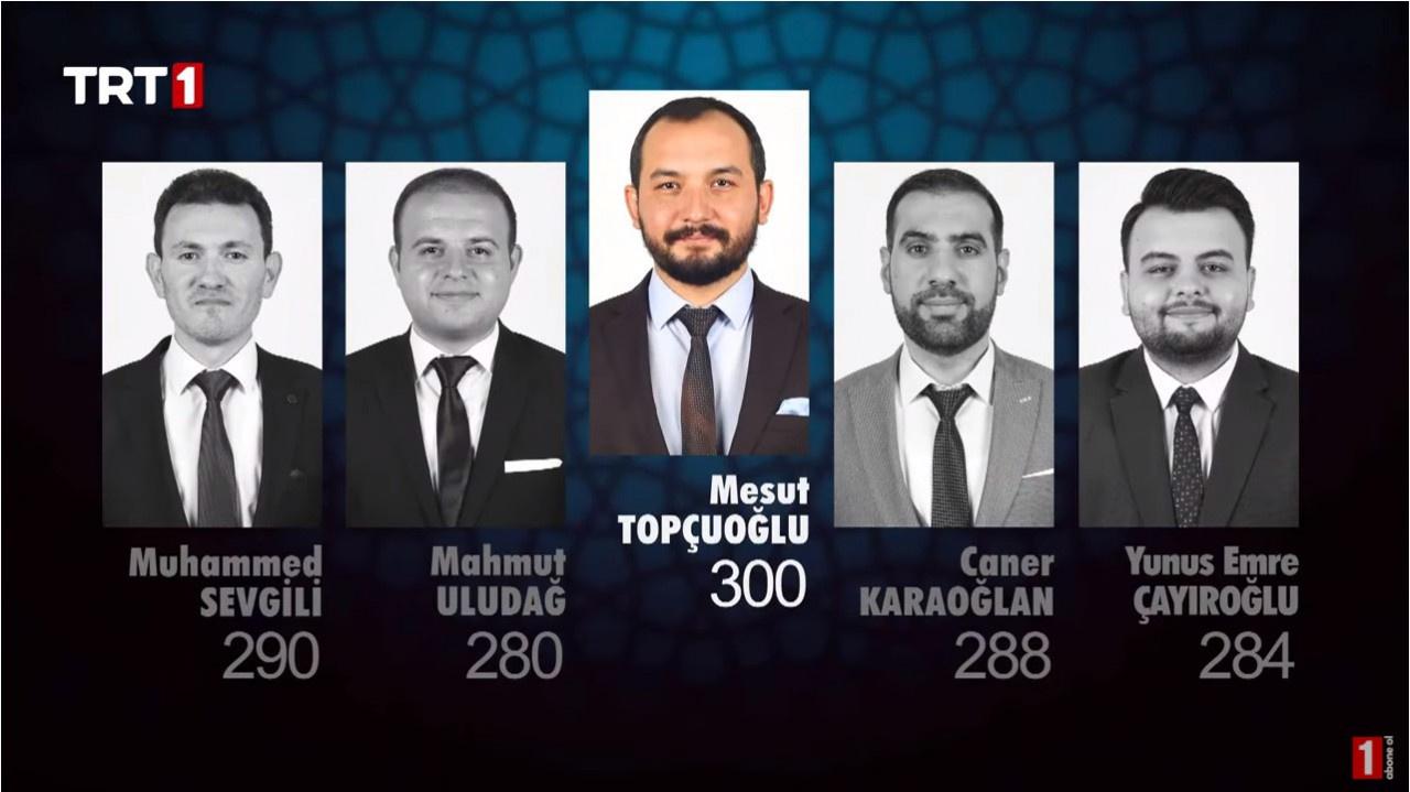 Muhammed Sevgili, Mahmut Uludağ, Mesut Topçuoğlu, Caner Karaoğlan ve Yunus Emre Çayıroğlu