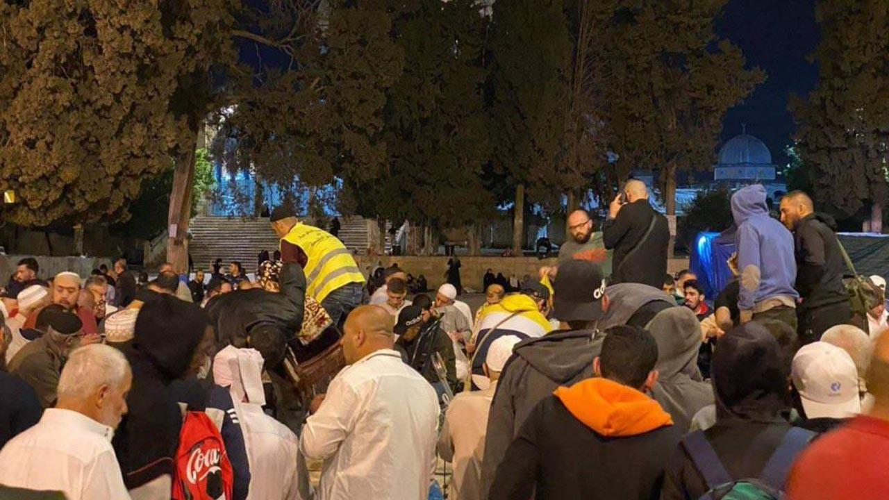 İsrail saldırıları İstanbul'da protesto edildi