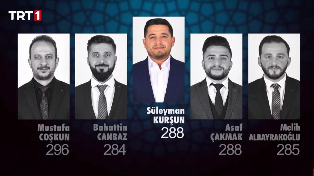 Kur'an-ı Kerim'i Güzel Okuma Yarışması son bölüm 8 Mayıs 2021 Cumartesi sonuçları