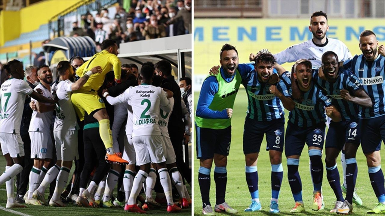 Süper Lig'e çıkan iki yeni takım belli oldu