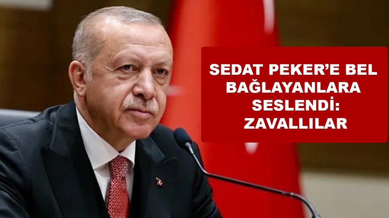 Sedat Peker'e bel bağlayanlara: Zavallılar