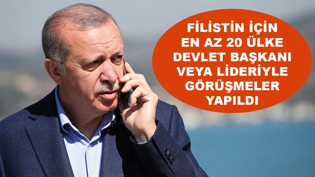Türkiye'den İslam ülkelerinde Filistin diplomasisi