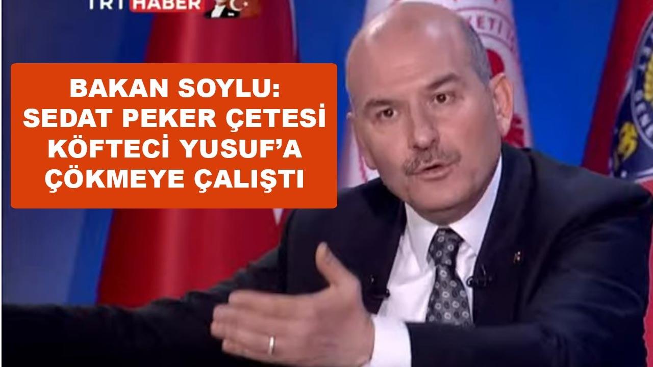 Sedat Peker, Köfteci Yusuf'a çökmeye çalışmış