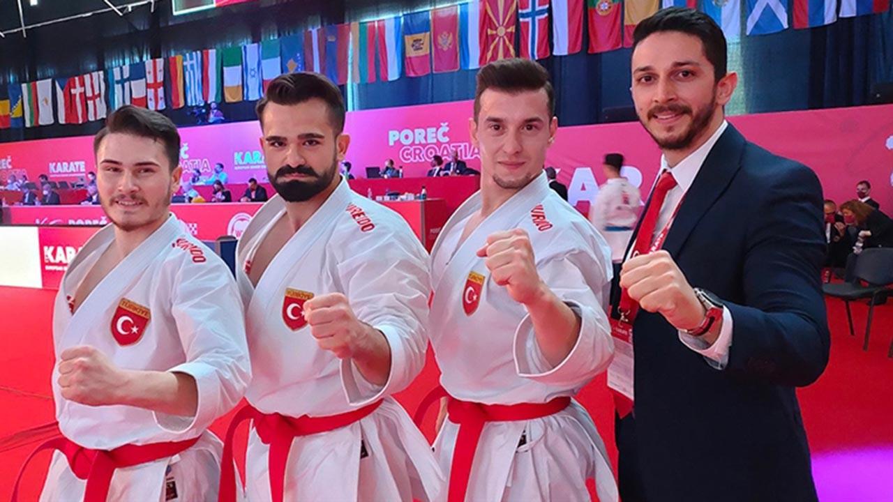 Milli karateciler ilk gün 14 madalya kazandı