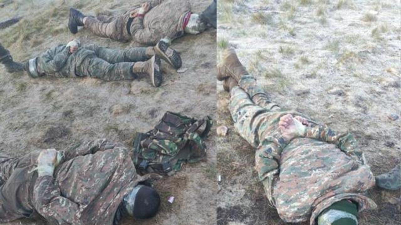 Ermeni askerleri bomba yerleştirirken yakalandı