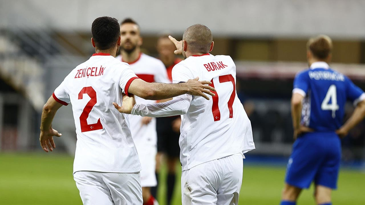 Türkiye, Moldova'yı hazırlık maçında rahat yendi