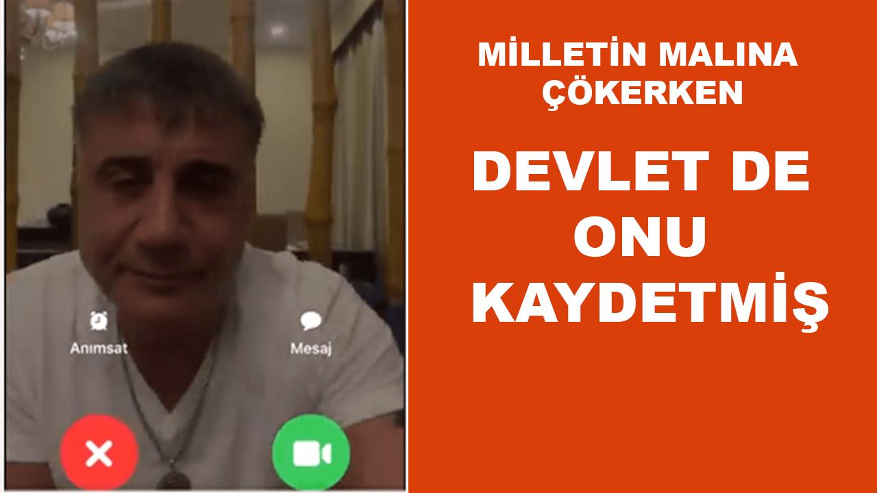 Devlet de Sedat Peker'in görüşmelerini kaydetmiş