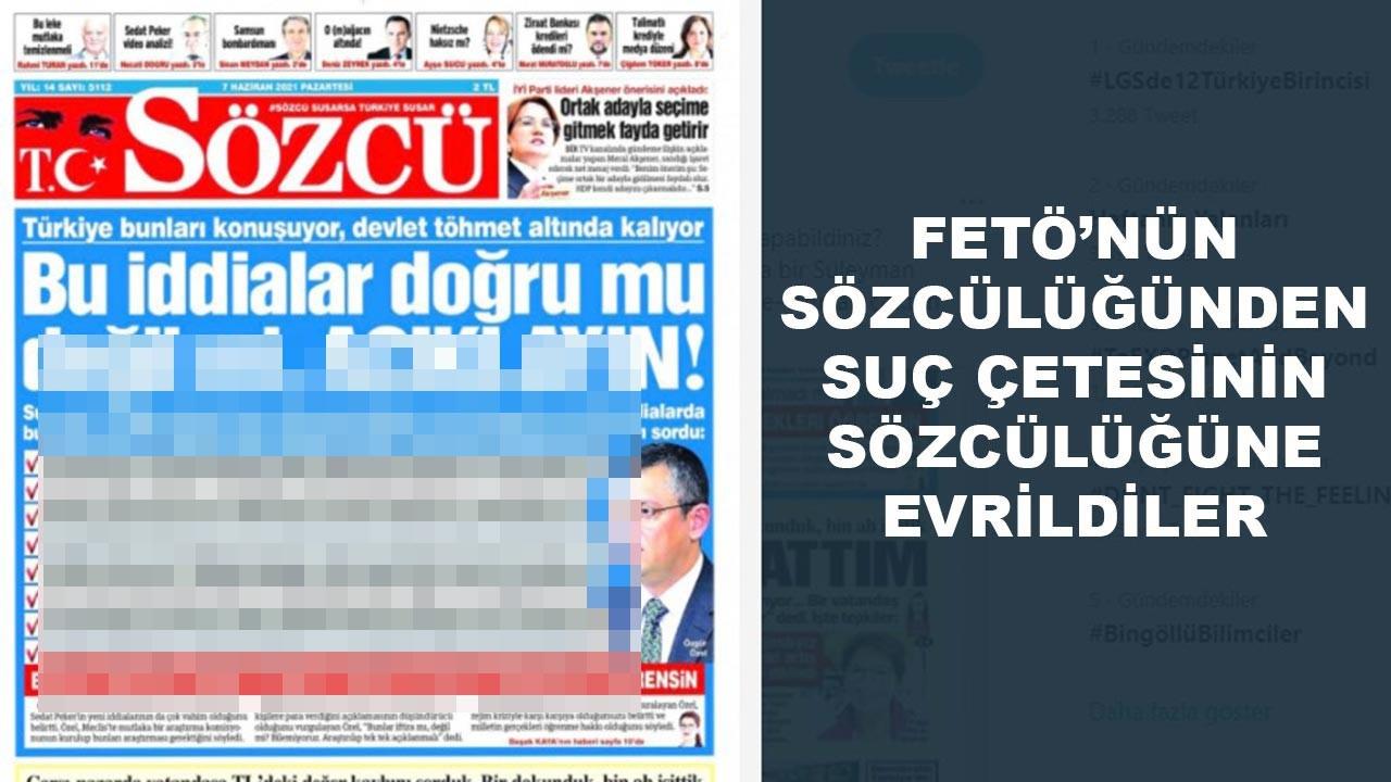 """Çetebaşı Sedat Peker'in """"Sözcü'leri"""""""