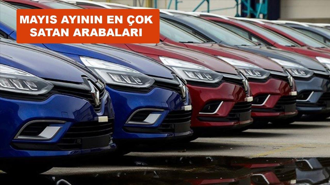 Mayıs ayında en çok araba satan markalar açıklandı