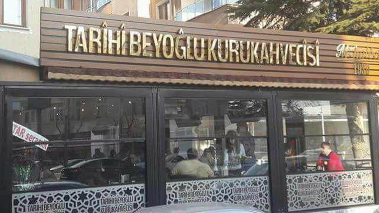 Tarihi Beyoğlu Kurukahvecisi kimin? Sahibi?