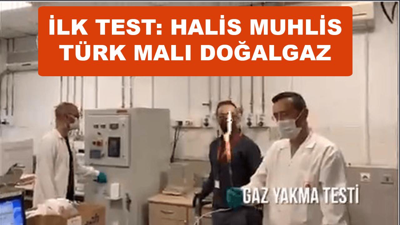 Karadeniz'de yeni bulunan gaz ilk kez test edildi