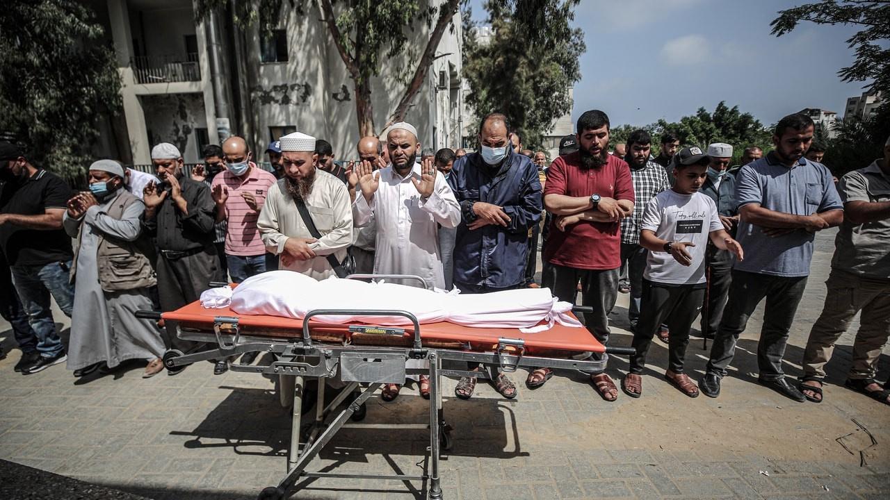 Gazze'de işgalci mühimmatı patladı, bir çocuk öldü