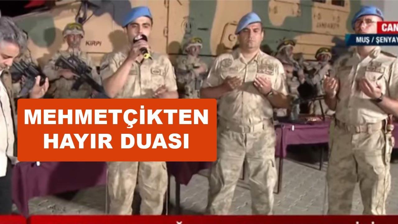 Mehmetçik'ten hayır duası