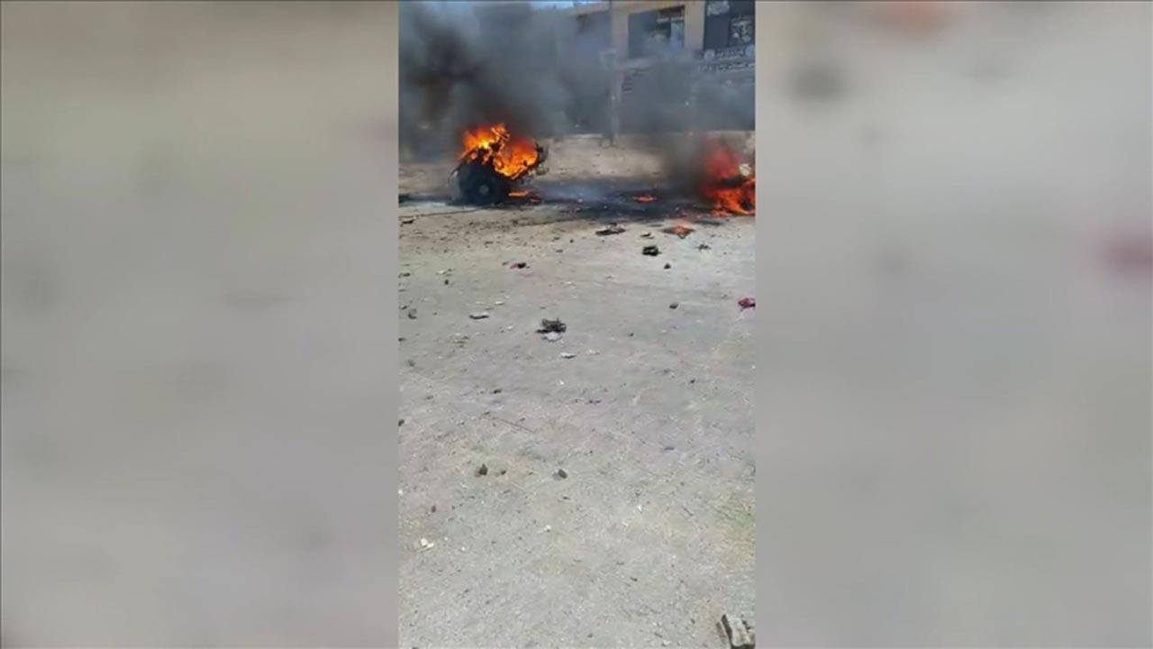 Terör örgütü saldırdı, Afrin'de sivil katliamı