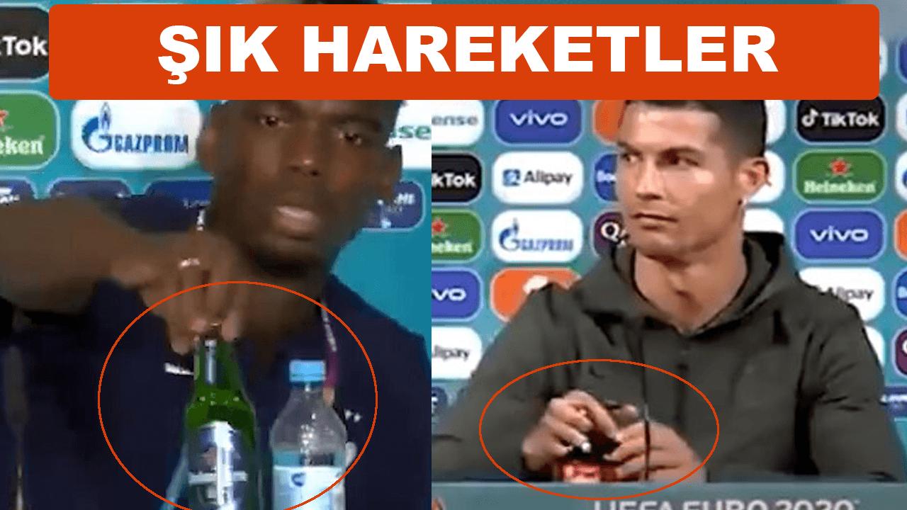 Ronaldo ve Pogba'dan şık hareketler