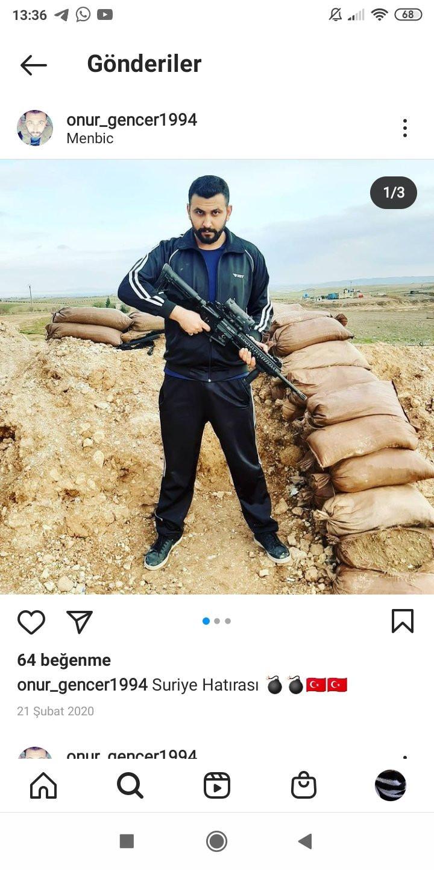 Onur Gencer'in instagram hesabındaki fotoğrafları