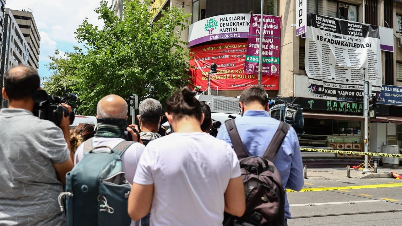 HDP'ye saldıran kişi gözaltında