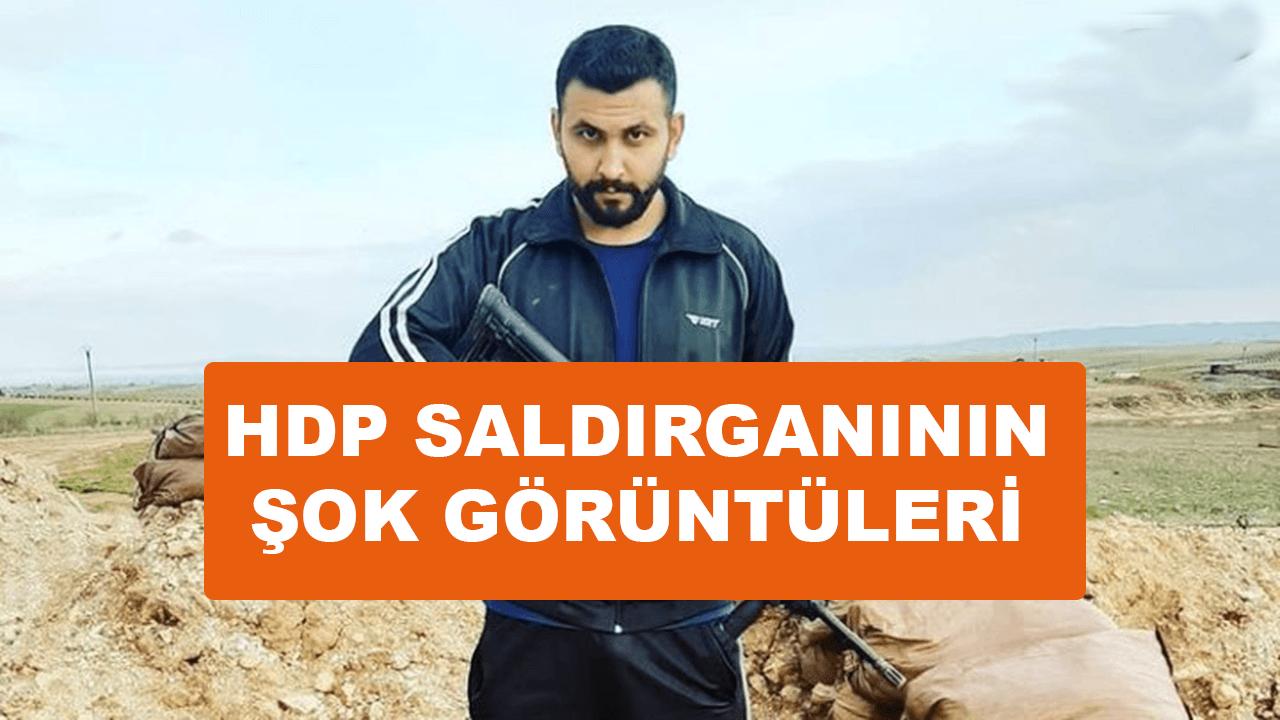 HDP'ye saldıran Onur Gencer'in şok görüntüleri