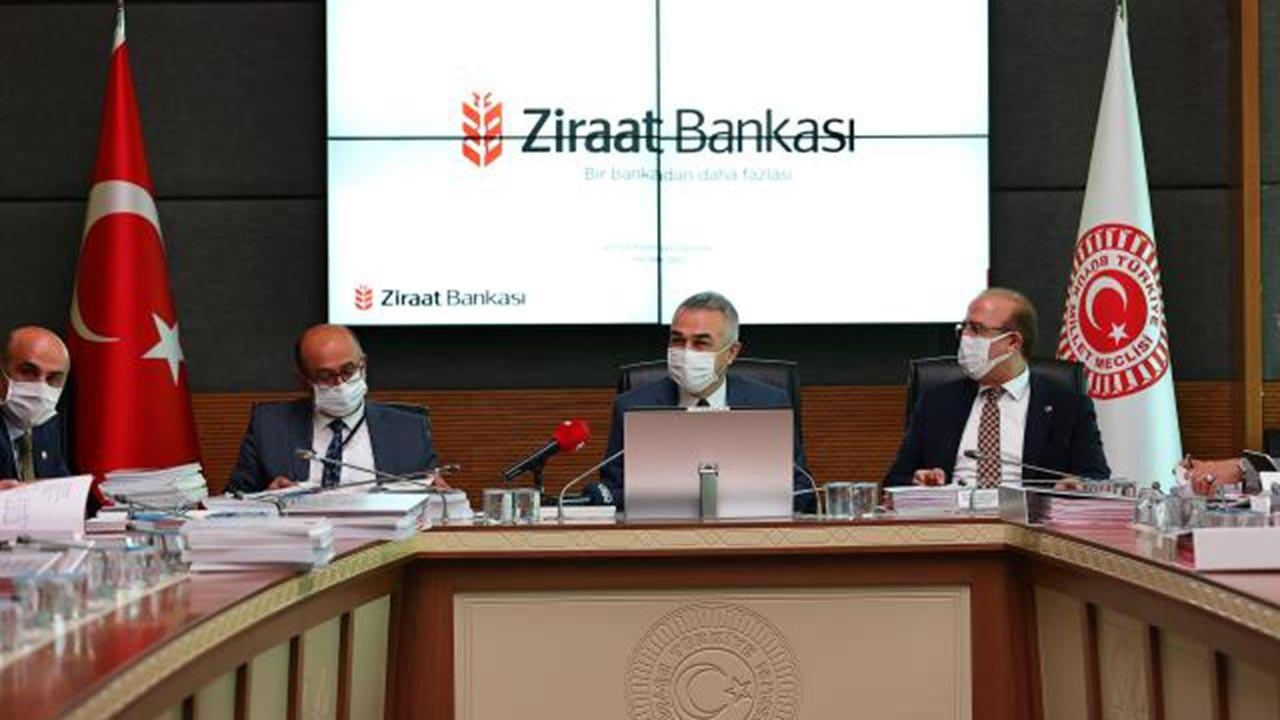 Ziraat Bankası Müdürü TBMM'de iddiaları cevapladı