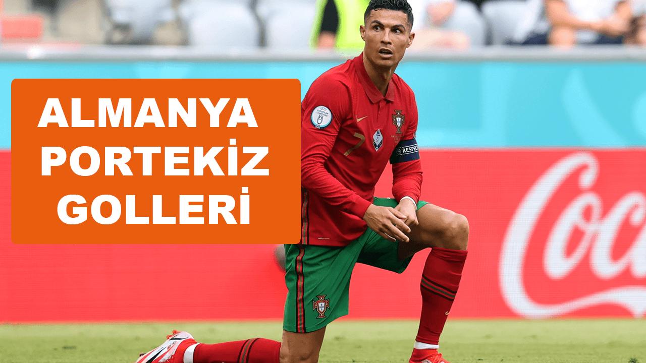 Almanya Portekiz golleri maç özeti