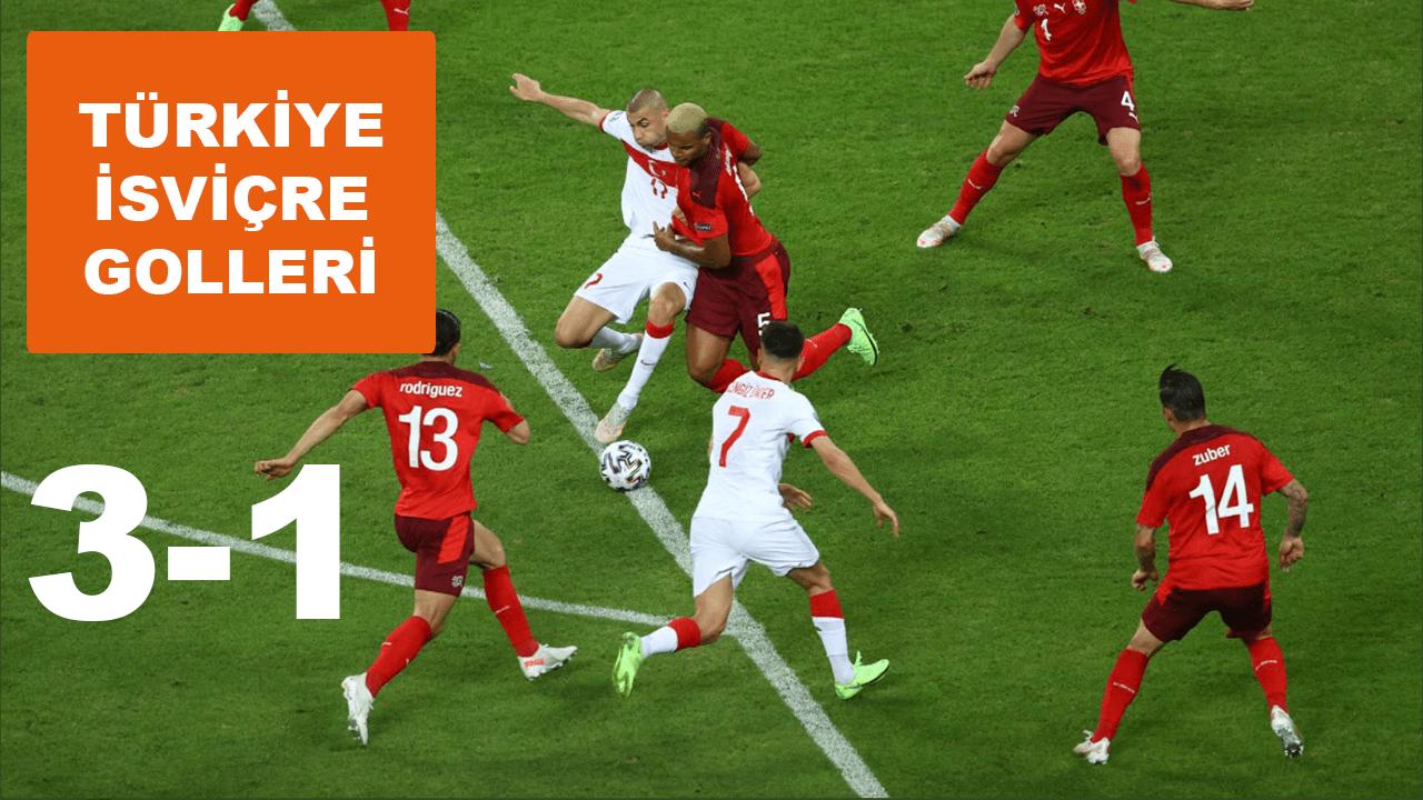 Türkiye - İsviçre maçı  golleri