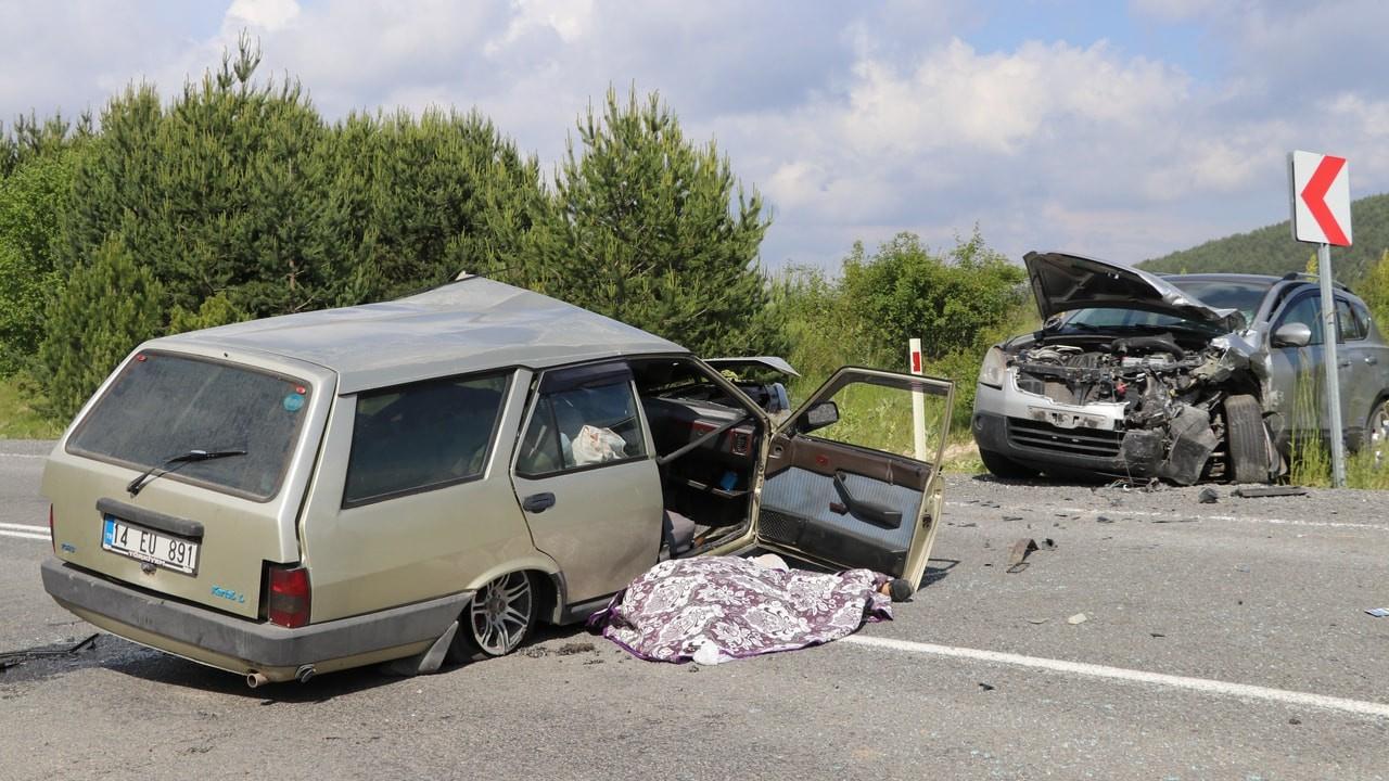 Bolu'da trafik kazası, 2 ölü, 4 yaralı