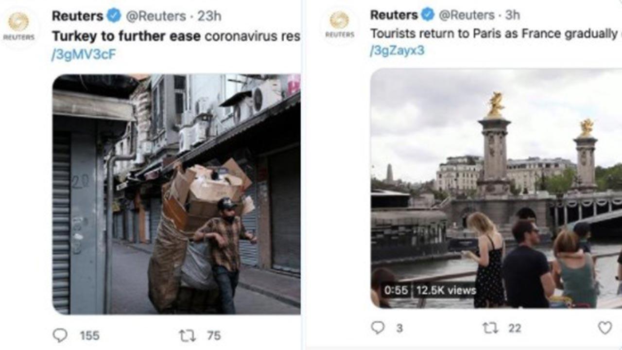 Reuters'ın Türkiye düşmanlığına tepkiler büyüyor