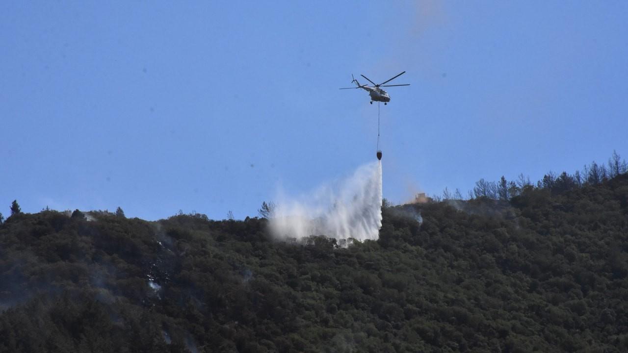 Marmaris'teki yangın kontrol altında