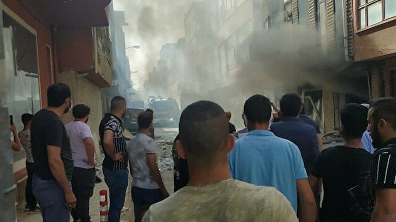 Ankara'da korkutan patlama, 2 yaralı var