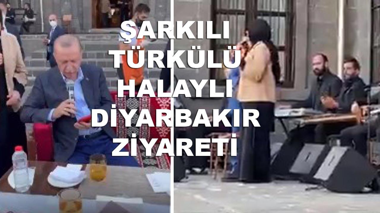 Erdoğan'ın Diyarbakır ziyaretinden eğlenceli anlar