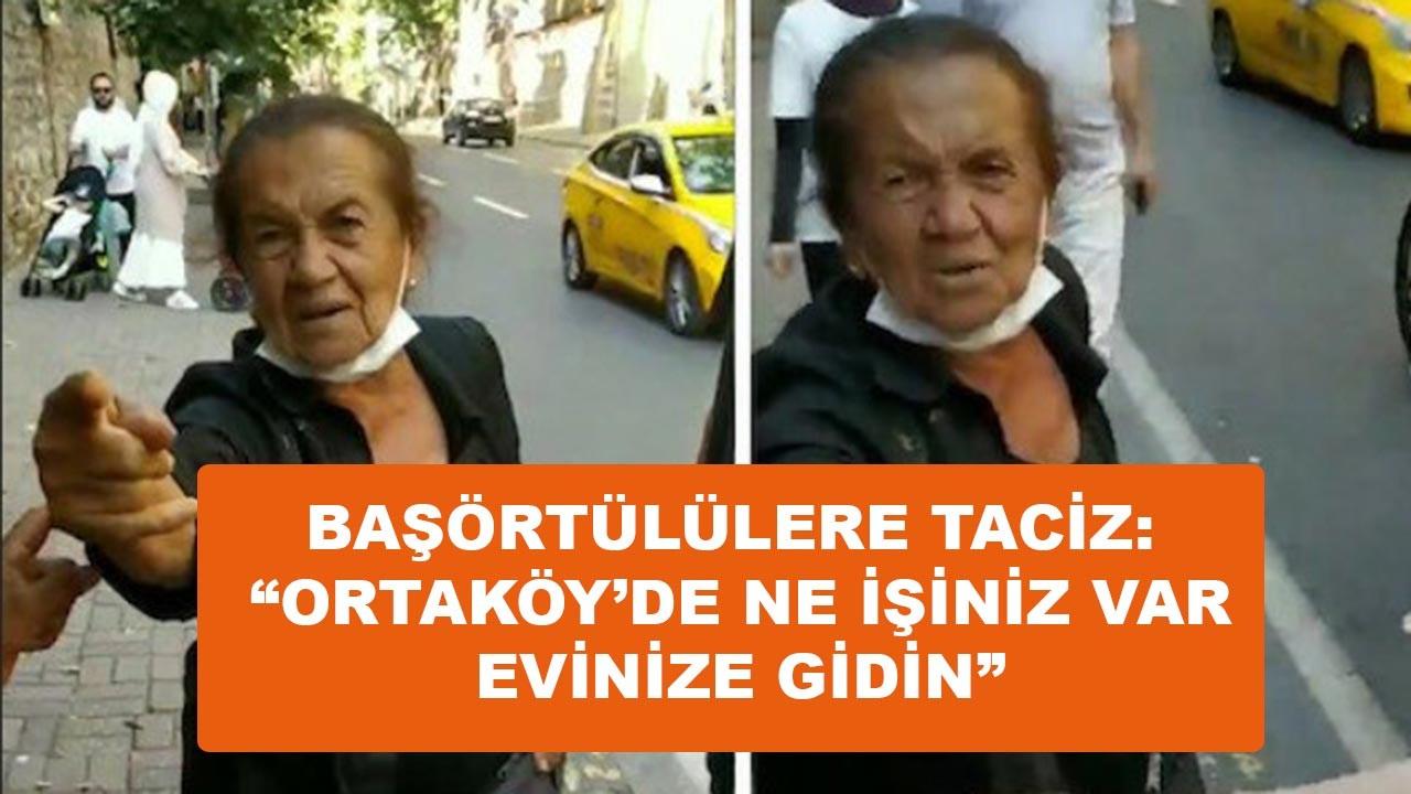 Beşiktaş'ta başörtülü kadınlara saldırı