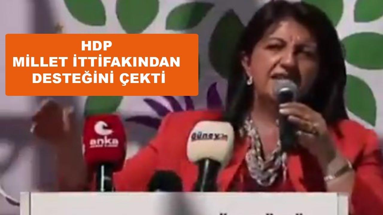 HDP'den CHP ve İyi Parti'yi üzecek açıklamalar