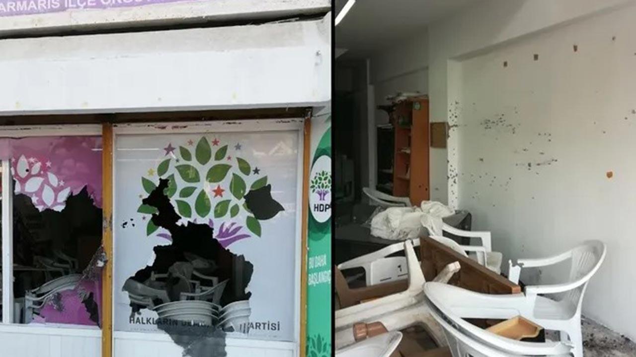 HDP binasına saldıran şizofren çıktı