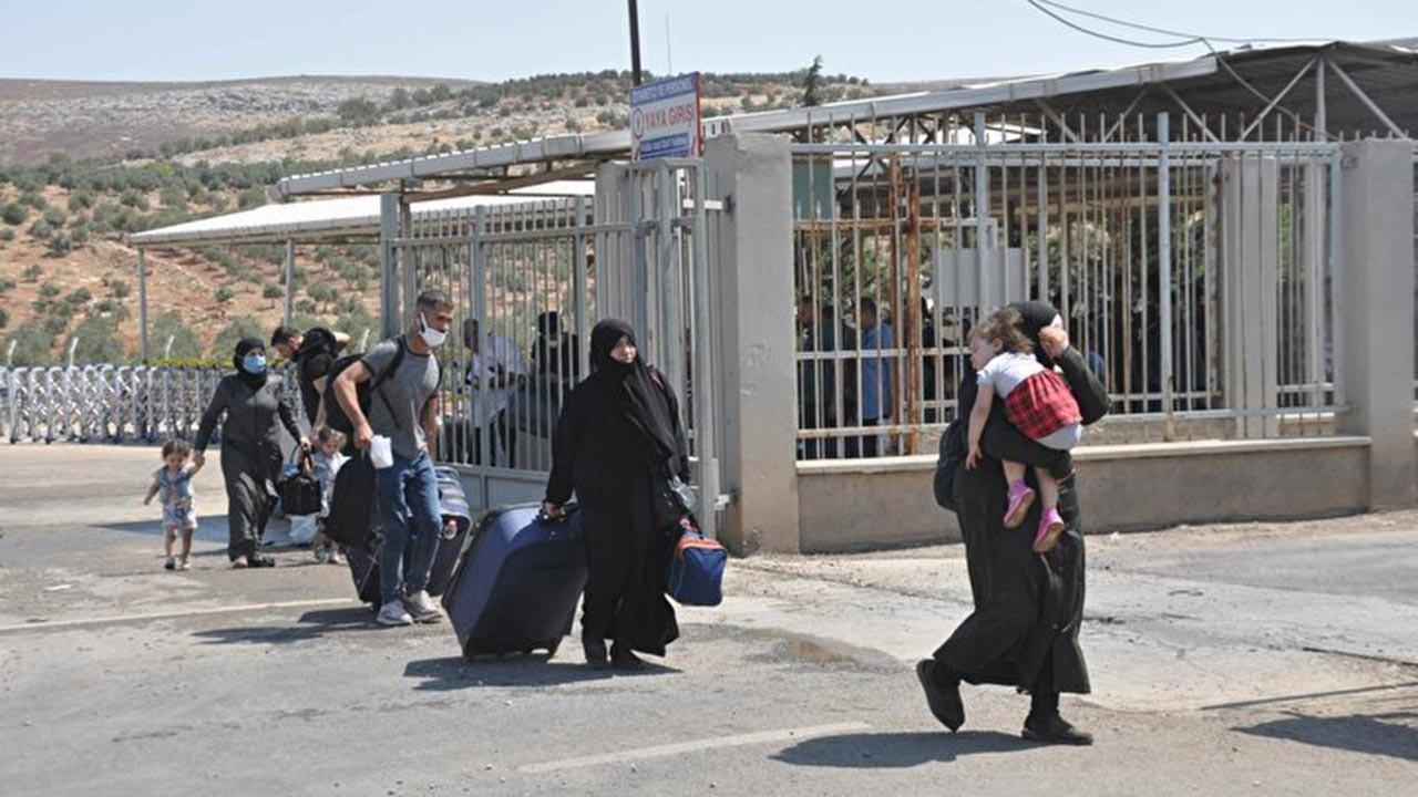44 bin Suriyeli Cilvegözü'nden ülkesine döndü