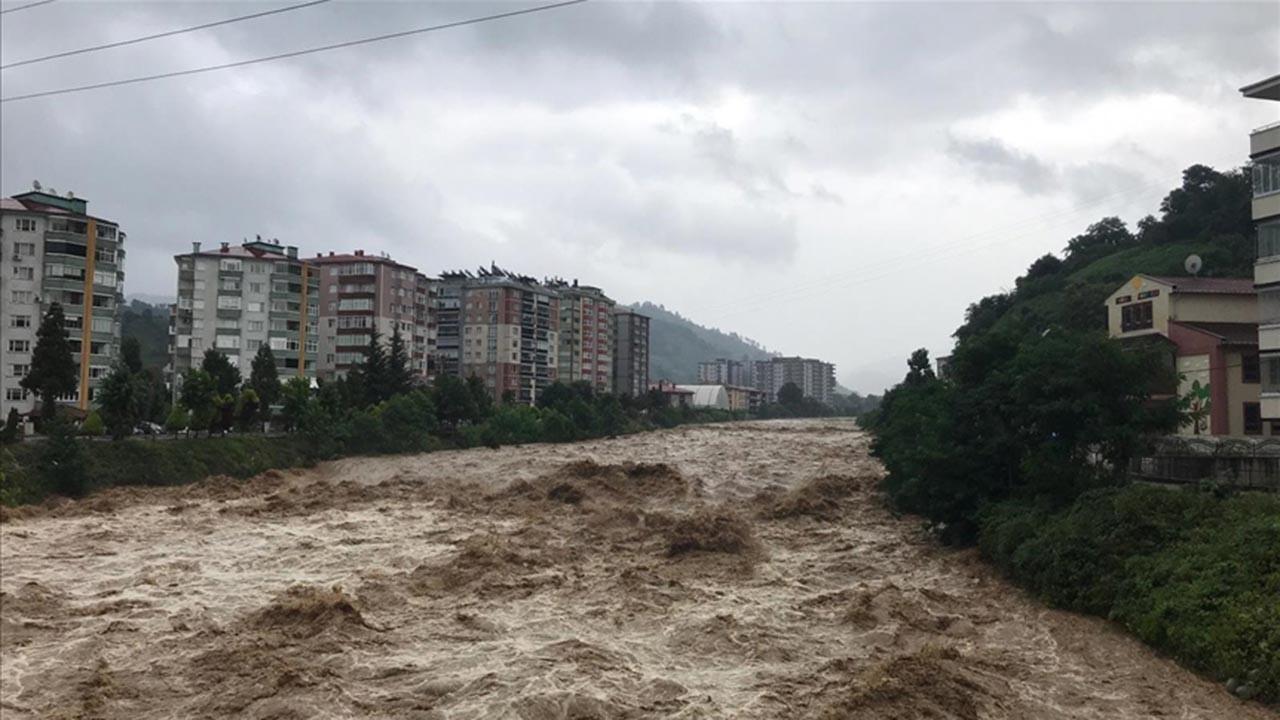Bir hafta dolmadan Rize'de ikinci sel felaketi