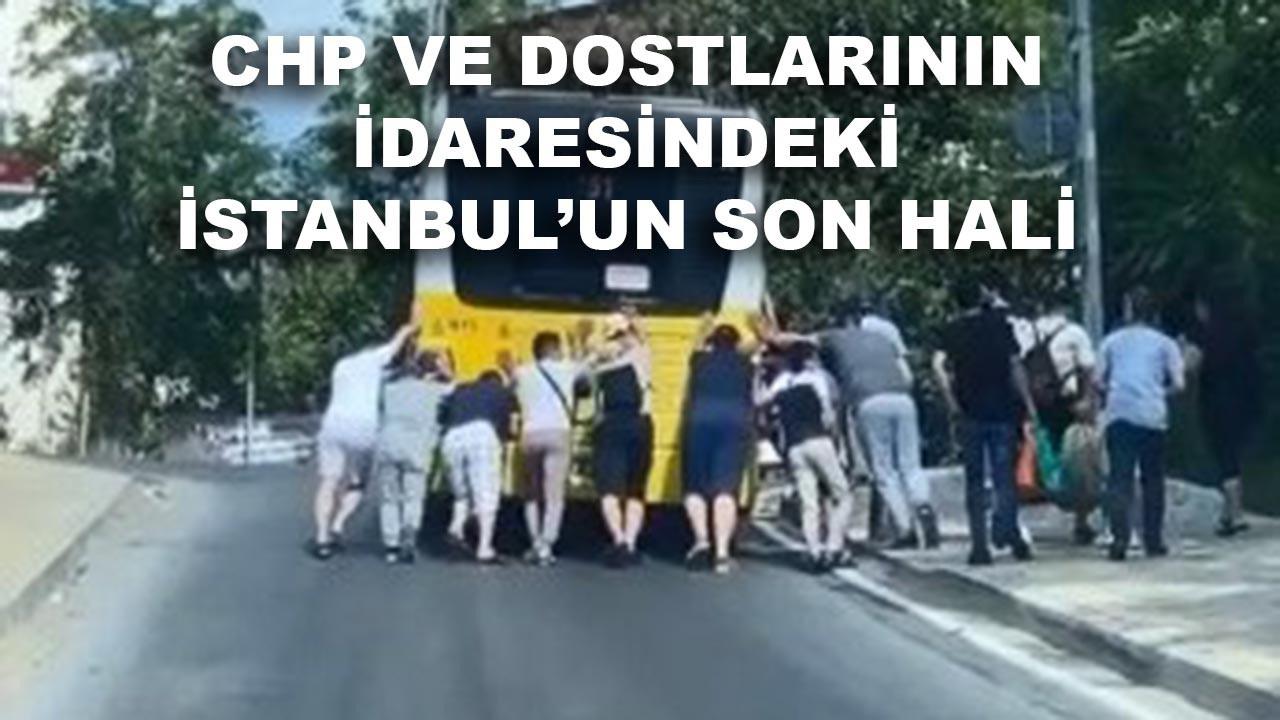 CHP idaresindeki İstanbul'un son hali