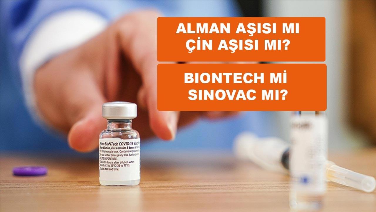 Sinovac mı BioNTech mi yorumlar