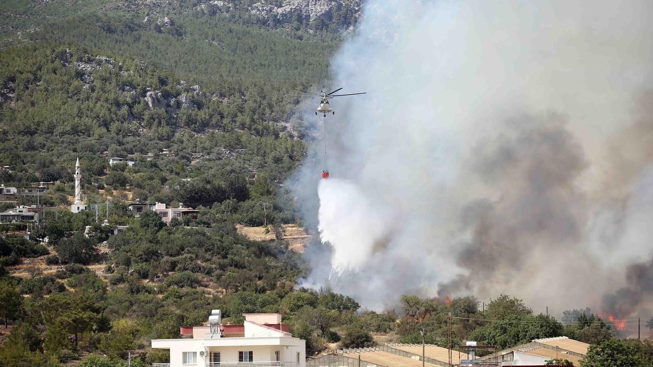 Mersin'deki yangında son durum