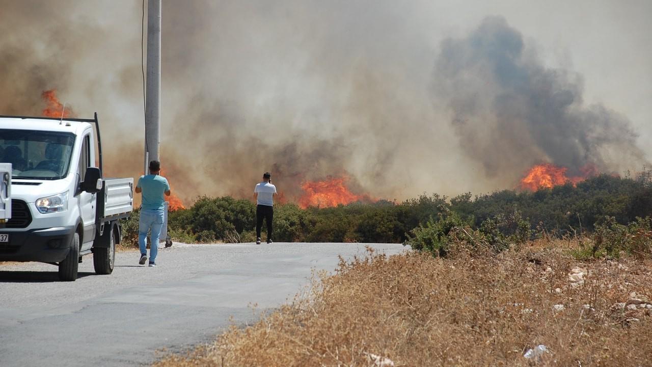 Son iki günde 17 ilde 58 orman yangını
