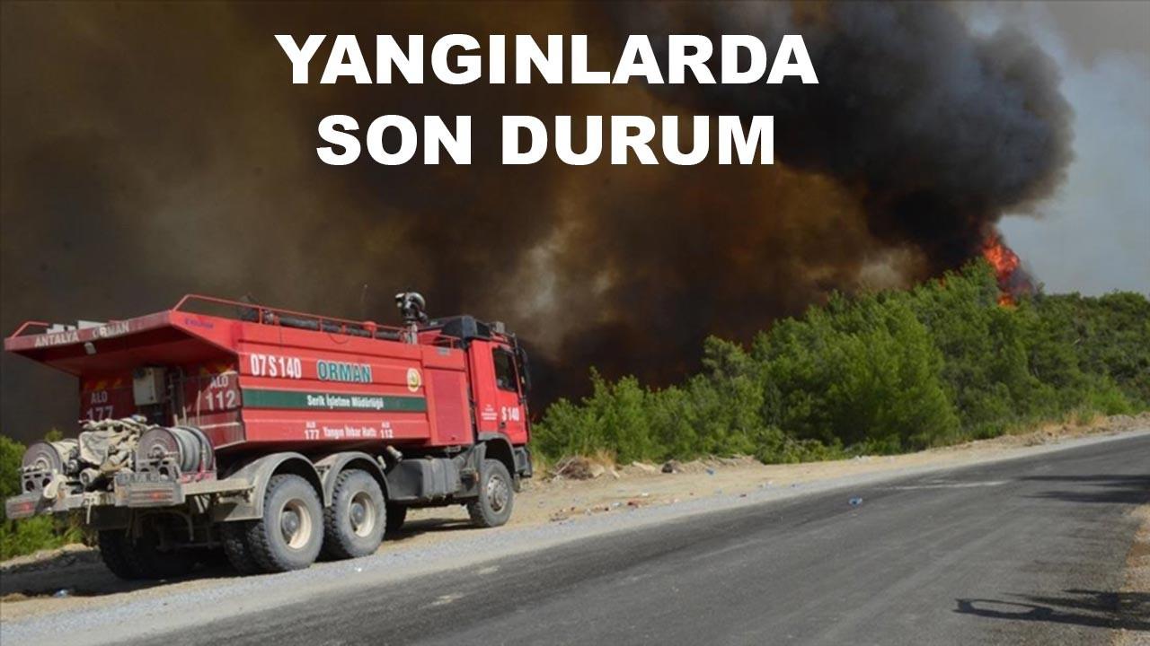 Beş günde 125 yangın çıktı, 117 tanesi söndürüldü