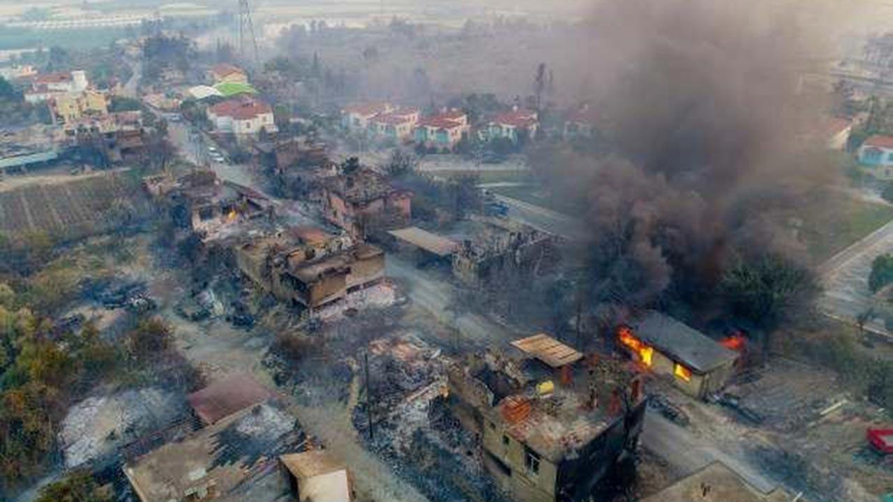 Manavgat'ta bir mahalle daha boşaltıldı