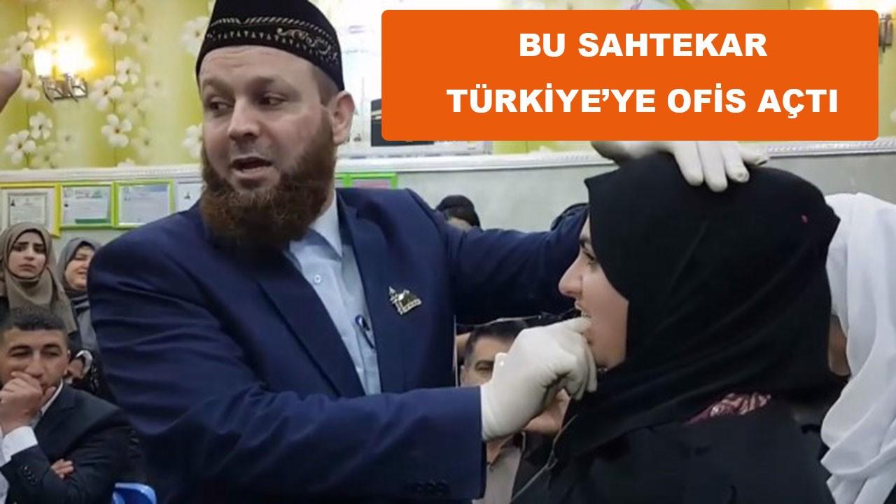 Her yerden kovulan sahtekâr Türkiye'de ofis açtı