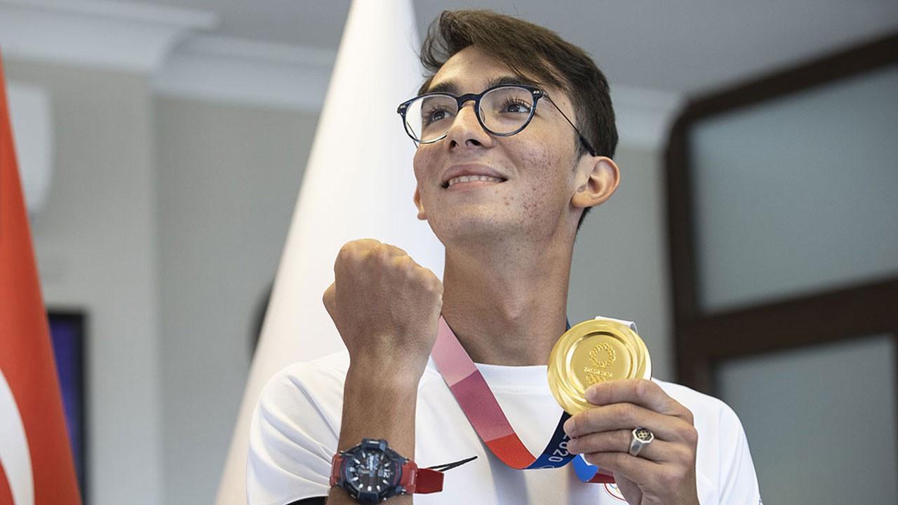 Mete Gazoz madalyayı 5 yıl önce hissetti