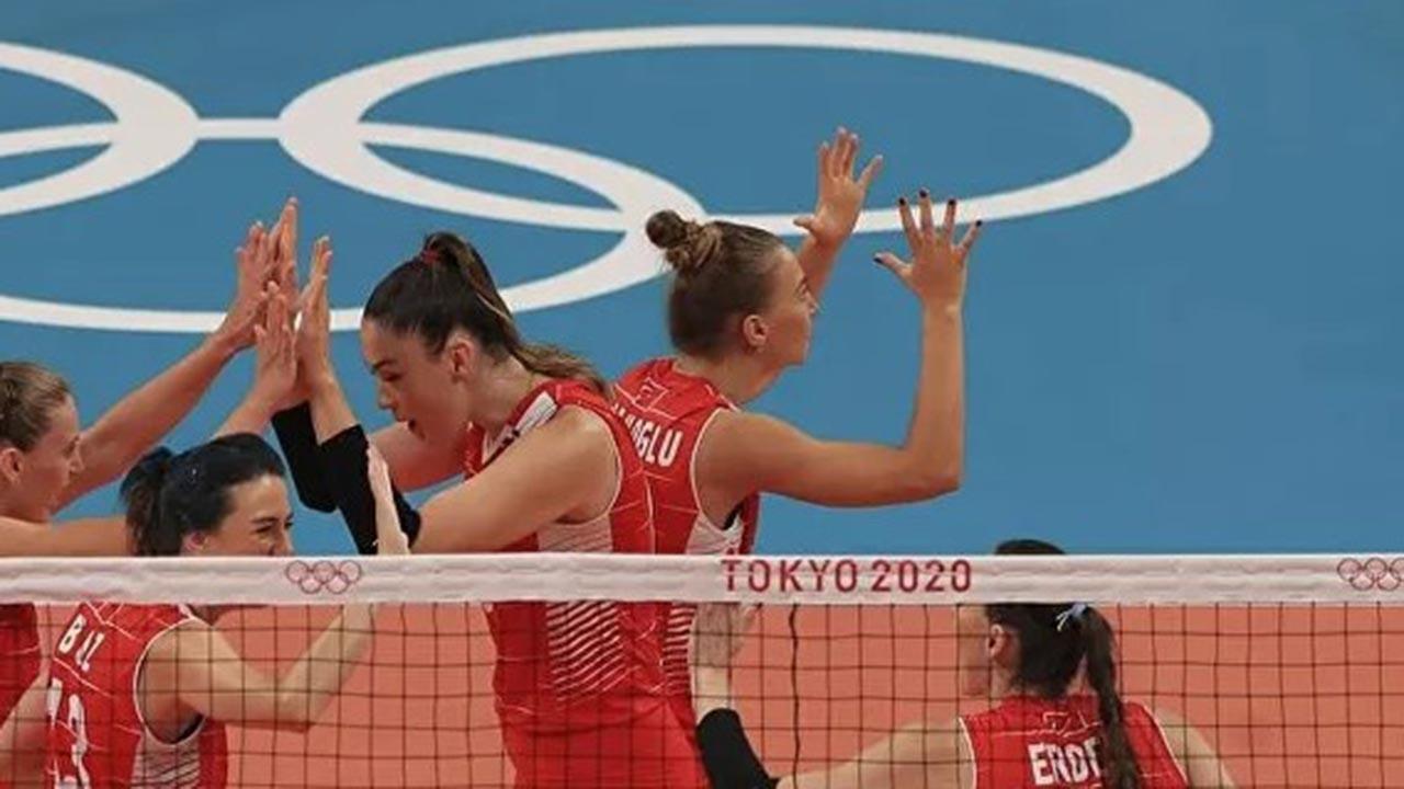 'Kadın Voleybol Takımı' olimpiyatlardan elendi