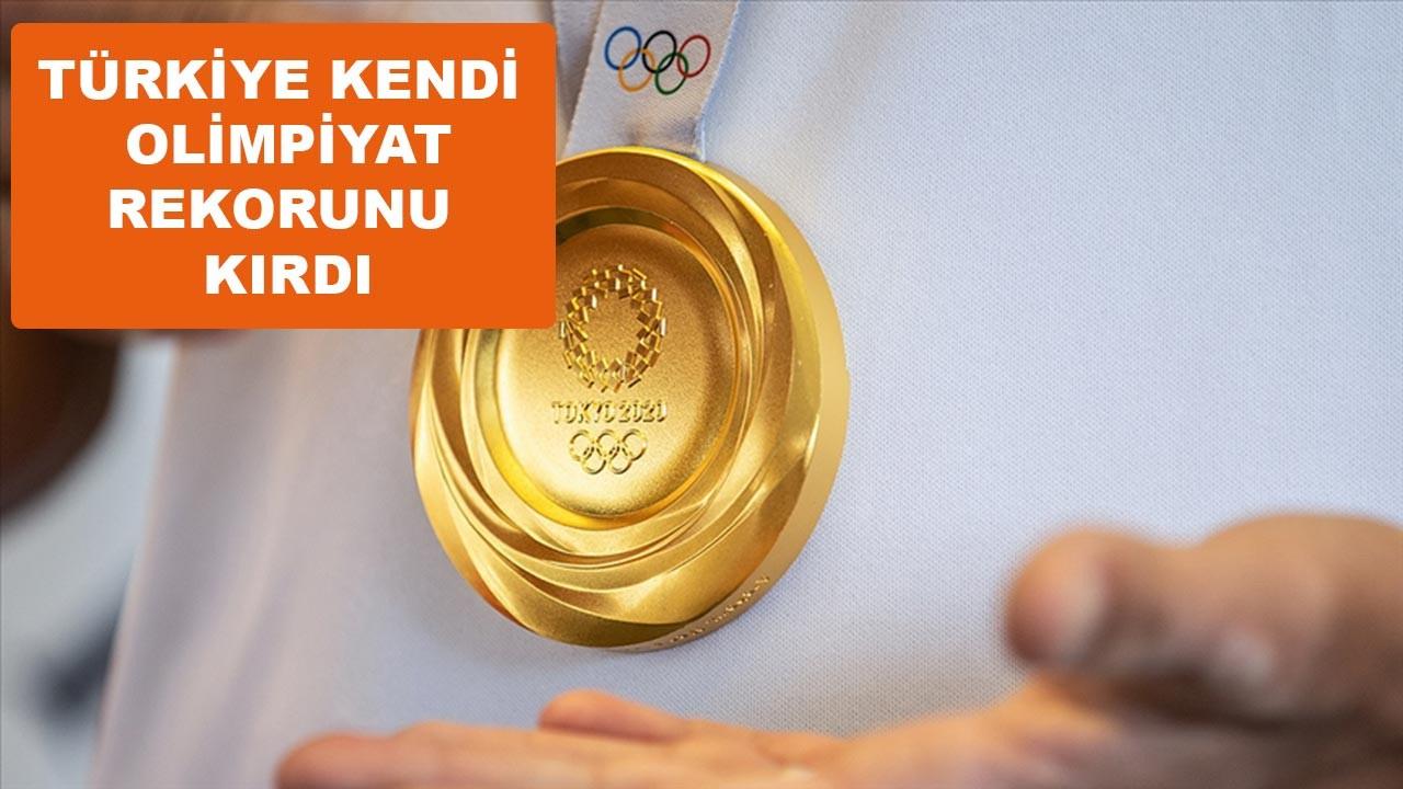 Türkiye olimpiyat tarihinin madalya rekorunu kırdı